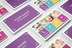 Business Card Template 013 Photoshop