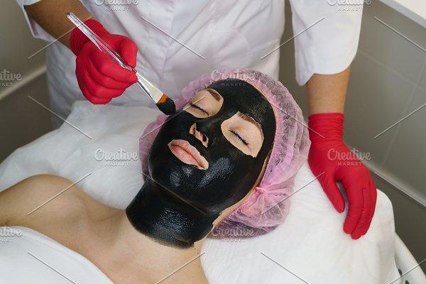 Moisturizing face mask  Cosmetic ~ Health Photos ~ Creative