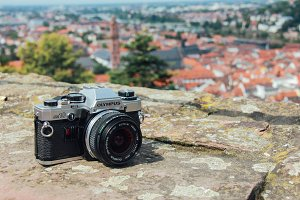 Film camera for traveling
