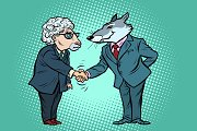 wolf and sheep business negotiations