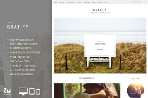 Gratify - Responsive Wordpress Theme