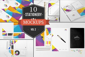 Beautiful Stationery Mockups Vol. 2