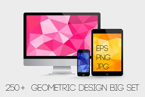 250+ Geometric backgrounds