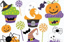 Halloween cupcake clipart commercial