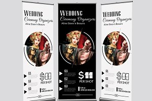 Fashion & Photography Roll up Banner
