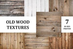 Old wooden textures