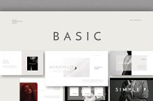 Basic Keynote Template by  in Presentations