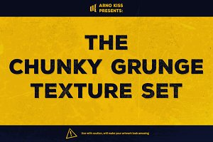 The Chunky Grunge Set (36 textures)