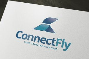 Connect Fly Logo