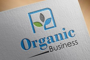 Organic Business Logo