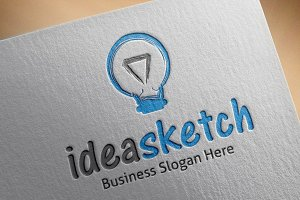 Idea Sketch Logo