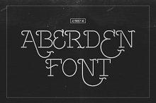 Aberden Font
