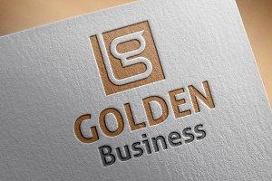 Golden Business Logo
