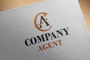 Company Agent Style Logo