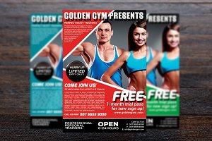 Fitness Sports Flyer