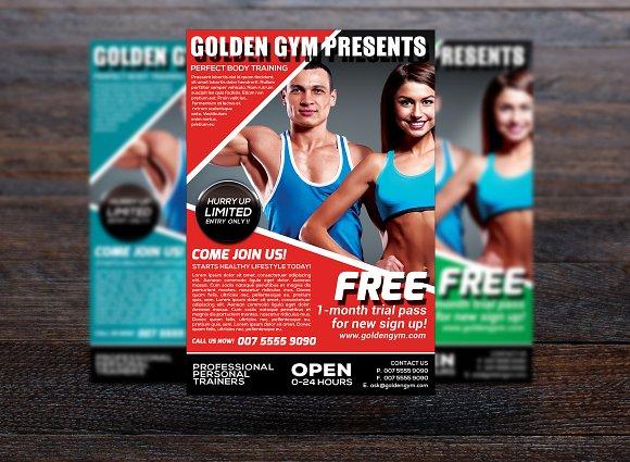 Fitness Sports Flyer ~ Flyer Templates ~ Creative Market