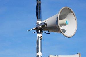 Speakers. Megaphones