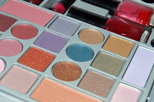 Makeup. cosmetics