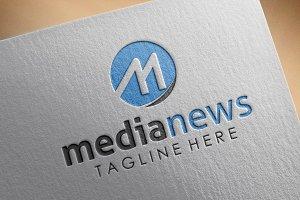 Media News Style Logo
