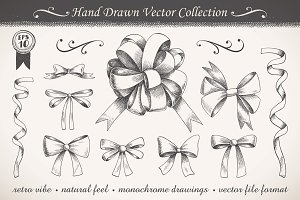 Graphic Ribbons and Bows