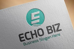 Echo BIZ Style Logo