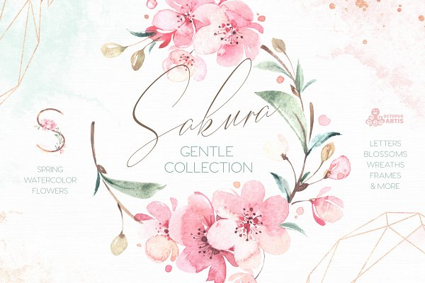 Sakura. Gentle Floral Collection