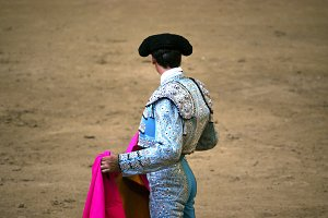 Torero. Bullfighter