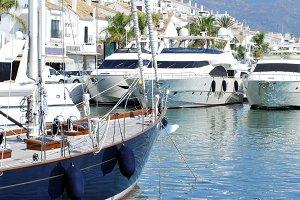 Puerto Banus ships
