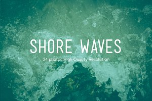 24 Shore Waves Photos HQ | V1