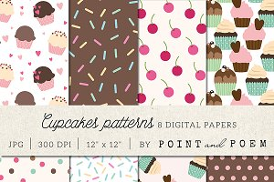 Cute Cupcakes Patterns
