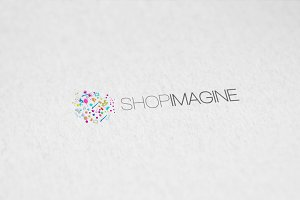 Shop Imagine Logo Template