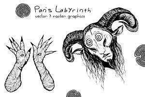 Pan's Labyrinth, Favn illustration