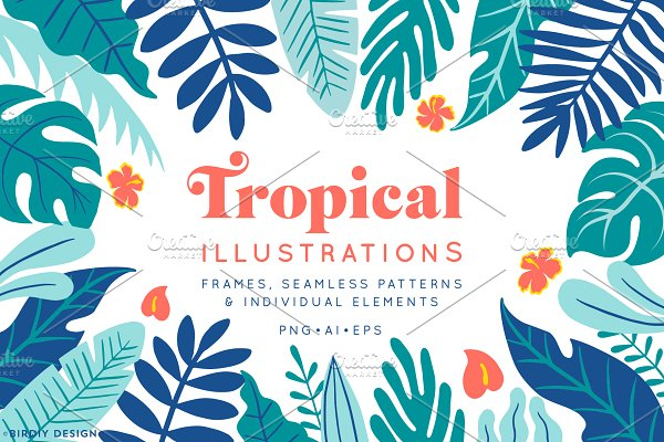 Tropical Illustrations