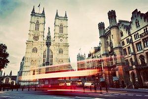 Westminster Abbey church, London, UK