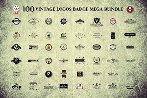 100 Logo Bundle!