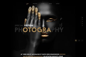 Photography-Amazing Template PSD