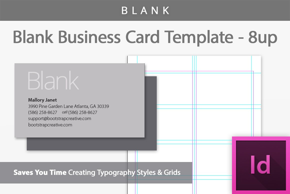 Blank business card template 8 up business card templates blank business card template 8 up business card templates creative market flashek Images