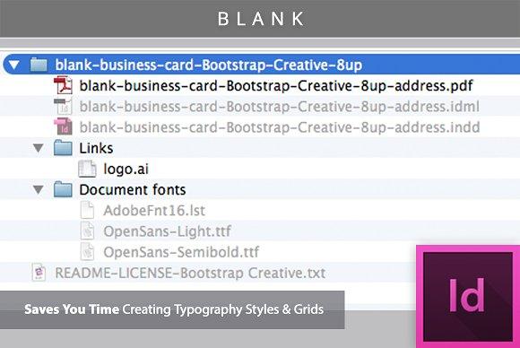 Blank business card template 8 up business card templates blank business card template 8 up business card templates creative market flashek Choice Image