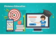 Business Education Banner - Distance