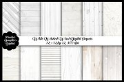White Washed Wood Digital Papers