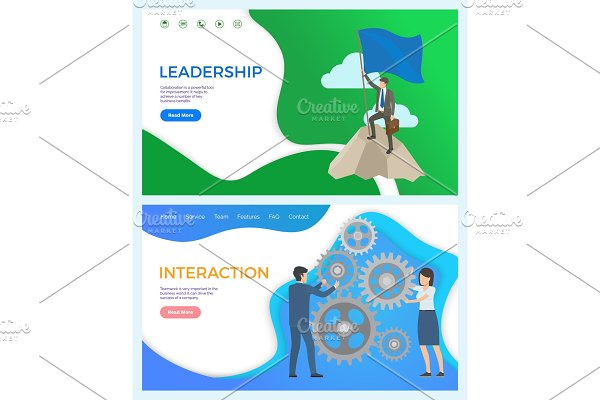 Leadership and Interaction Between