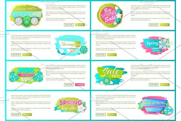 Big Spring Sale Best Offer Web Pages