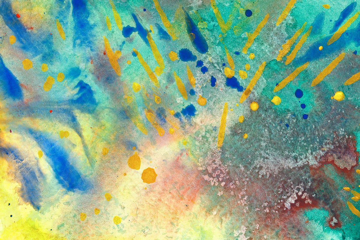 Abstract acrylic texture textures creative market for Creative abstract painting