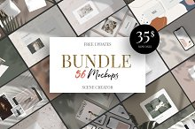 Mockup BUNDLE 12in1 + Free Update by  in Mockups