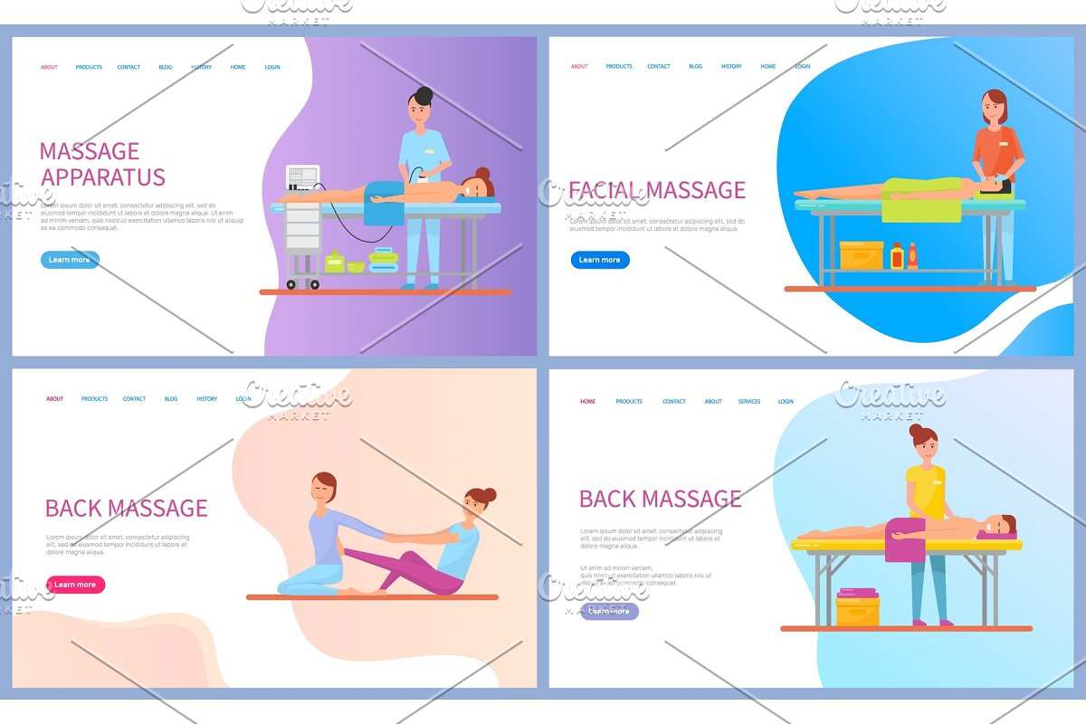 Master Making Back and Facial in Illustrations - product preview 8