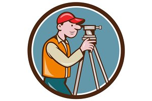 Surveyor Geodetic Engineer Theodolit