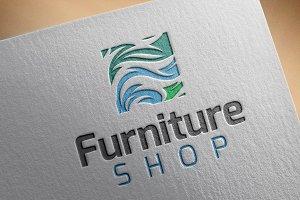 Furniture Shop Style Logo