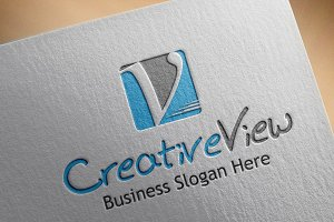 Creative View Style Logo