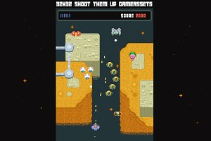 32x32 Arcade Shoot Them Up Gamepack