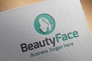 Beauty face Style Logo